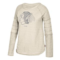 Women's CCM Chicago Blackhawks Finished Raglan Fleece