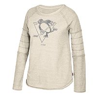 Women's CCM Pittsburgh Penguins Finished Raglan Fleece