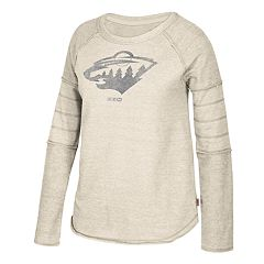 Women's CCM Minnesota Wild Finished Raglan Fleece