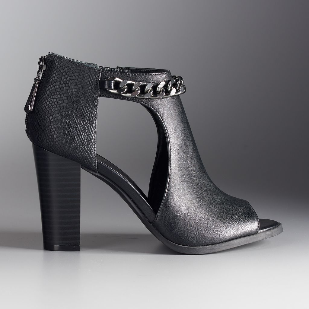 Simply Vera Vera Wang Athens Women's Ankle Boots
