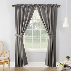 Sun Zero 2-pack Essex Room Darkening Window Curtains