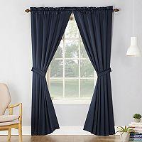 Sun Zero 2-pack Essex Room Darkening Window Curtain