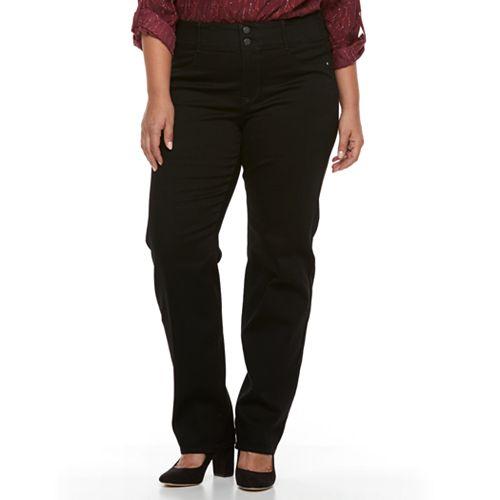 Plus Size Apt. 9® Straight Leg Jean