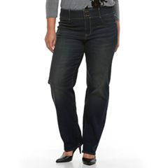 Plus Size Apt. 9® Straight Leg Jean