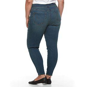 Plus Size Apt. 9®  Pull-On Skinny Jean