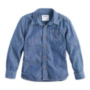 Boys 4-7x SONOMA Goods for Life? Chambray Button Down Shirt
