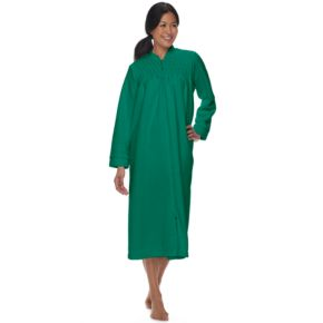 Women's Miss Elaine Essentials Brushed Back Terry Duster Robe