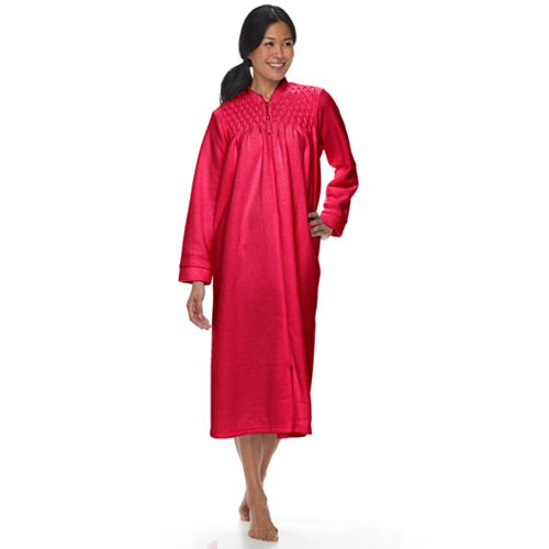 Petite Miss Elaine Essentials Brushed Back Terry Duster Robe 84429c9eb