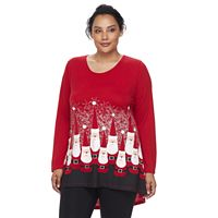 Plus Size MCcc Holiday Tee
