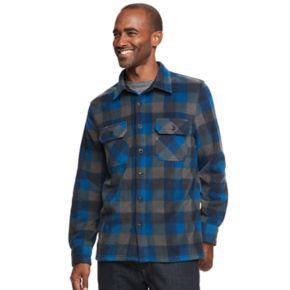 Men's Croft & Barrow® Arctic Fleece Shirt Jacket