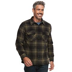 Men's Croft & Barrow® Arctic Fleece Shirt Jacket