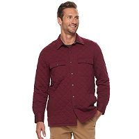 Men's Croft & Barrow® Classic-Fit Quilted Outdoor Shirt Jacket