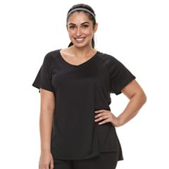 Plus Size Tek Gear® Space-Dyed Performance Base Layer Tee