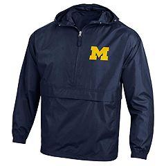 Men's Champion Michigan Wolverines Pack 'n' Go Jacket