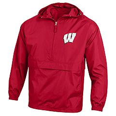 Men's Champion Wisconsin Badgers Pack 'n' Go Jacket