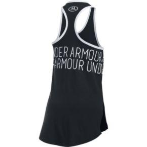 Girls 7-16 Under Armour Dazzle Wraparound Graphic Tank Top