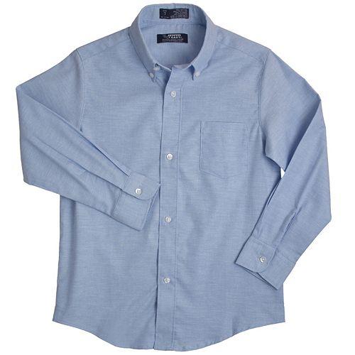 Boys 4-20 French Toast School Uniform Oxford Button-Down Dress Shirt