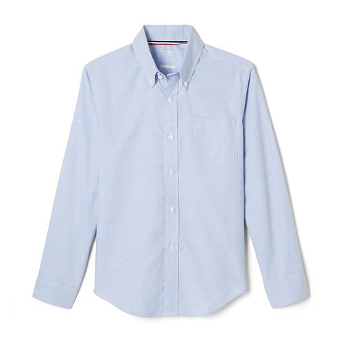 Boys 4-20 & Husky French Toast School Uniform Oxford Button-Down Dress Shirt