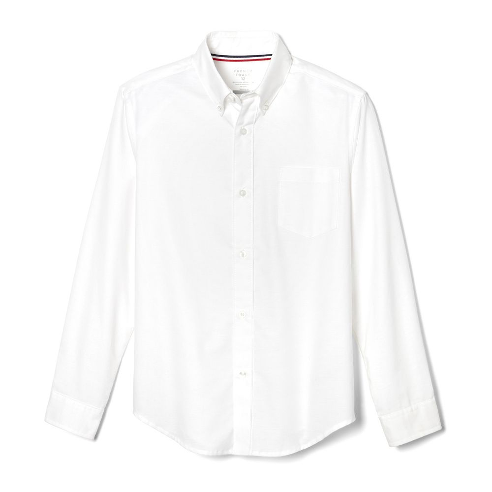 Boys 4-20 French Toast Button-Front Oxford Shirt