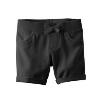 Toddler Girl Jumping Beans® Ribbed Waist Jegging Shorts