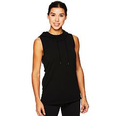 Women's Gaiam Divine Sleeveless Yoga Hoodie