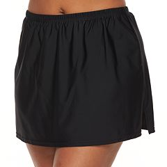 Plus Size Croft & Barrow® High Rise Skirtini Bottoms