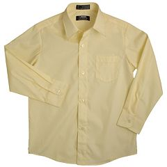 Boys 8-20 & Husky French Toast Solid School Uniform Dress Shirt