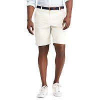 Big & Tall Chaps Flat-Front Stretch Twill Shorts