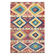 Nourison Vivid Tribal Wool Rug