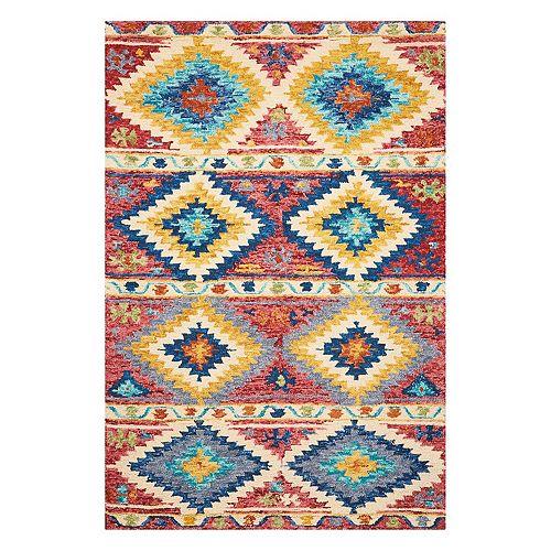 Nourison Vivid Tribal Wool Rug