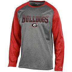 Men's Champion Georgia Bulldogs Raglan Tee