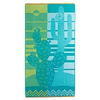 Celebrate Summer Together Cactus Beach Towel