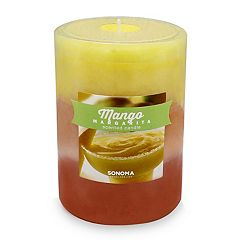 SONOMA Goods for Life™ Mango Margarita 3' x 4' Pillar Candle