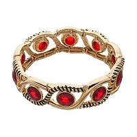 Dana Buchman Red Wavy Stretch Bracelet