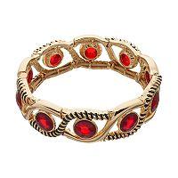 Dana Buchman Red Wavy Stretch Bracelet
