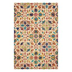 Nourison Vivid Floral Wool Rug