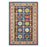 Nourison Vivid Framed Medallion Wool Rug