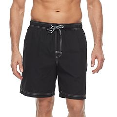 Men's Croft & Barrow® Solid Swim Trunks