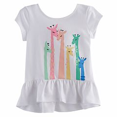 Toddler Girl Jumping Beans® Peplum Top