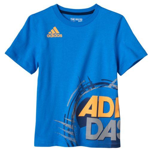 Boys 4-7x adidas Sports Wrap-Around Graphic Tee