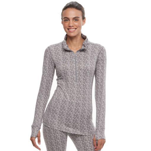 Women's Jockey Butter Knit 1/2-Zip Long Sleeve Top