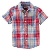 Boys 4-12 OshKosh B'gosh® Short Sleeve Button-Front Shirt