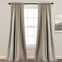 Half Moon 2-pack Julia Room Darkening Window Curtain