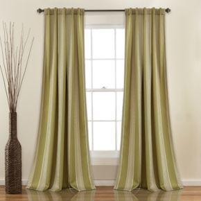 Half Moon 2-pack Julia Room Darkening Window Curtains