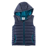 Boys 4-7x SONOMA Goods for Life™ Quilted Hooded Vest