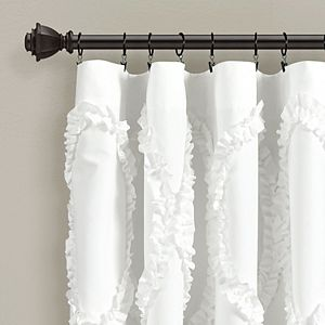 Lush Decor 1-Panel Avon Window Curtain