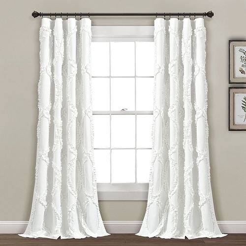 Lush Decor 1-Panel Avon Window Curtain
