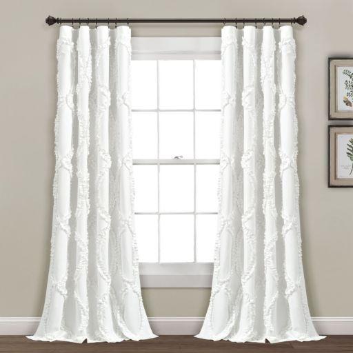 Lush Decor Avon Window Curtain