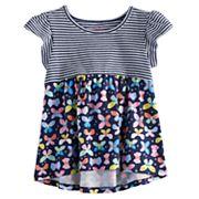 Toddler Girl Jumping Beans® Printed Peplum Top