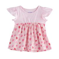 Toddler Girl Jumping Beans® Printed Peplum Top